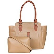 ADISA AD1011 brown women handbag with sling bag for Rs. 999
