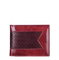 Buy TSX Men's Maroon Faux Leather Wallet from Amazon