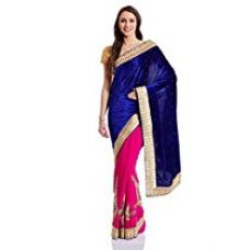 Buy Fashionoma Saree with Blouse Piece from Amazon