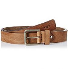 Buy Color Plus Men's Leather Belt from Amazon