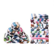 Buy JARS Collections Set Of 12 Stripe Design Face Towel for Rs. 94