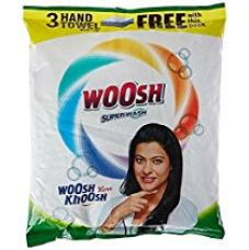 Buy Woosh Super Detergent Powder - 2 kg with Free Hand Towel - 3 Pieces from Amazon