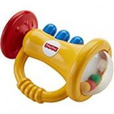 Buy Fisher Price Trumpet Rattle, Multi Color from Amazon