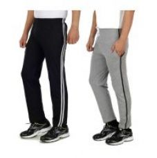 Buy Swaggy Grey  Black Pyjamas For Men (Pack Of 2) for Rs. 299