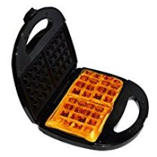 Buy Libra 2 Slice 750W Waffle Maker with cool touch housing from Amazon