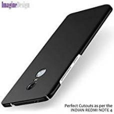 Buy WOW Imagine 360 Degree Sleek Rubberized Matte Hard Back Cover For XIAOMI MI REDMI NOTE 4 - Pitch Black (as per the INDIAN Redmi Note 4 Model) from Amazon