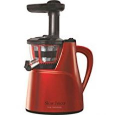 Buy The Original Slow Juicer by Premsons - Red from Amazon