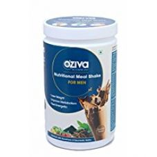OZiva Nutritional Meal Shake for Men, High Protein Meal Replacement with Herbs, 500 gm (Chocolate) for Rs. 1,245