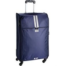 Buy Safari Racin Polyester 75 cms Blue Soft sided Suitcase (Racin-75-Blue-4WH) from Amazon