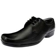 Buy Footgear Men's Black Formal Lace Up Shoes for Rs. 394