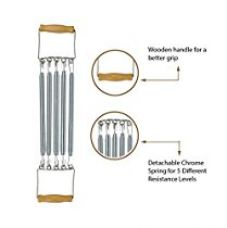 Strauss Chest Expander with 5 Springs for Rs. 374