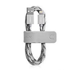 MOMAX Elite MMFI Woven Lightning Data Sync Charging Cable for iPhone 6 / 6s / 6 Plus / 6s Plus/ 5s/ 5/ 5c/ iPad / iPod -Silver for Rs. 2,299