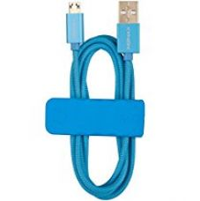 Momax Nylon Braid Android Universal Sync and Charging Cable for Samsung Galaxy (Blue) for Rs. 1,599
