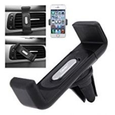 Casotec Air Vent Car Mount Holder Stand Cradle For 4-5.5 inches Smartphones, GPS - Black for Rs. 199