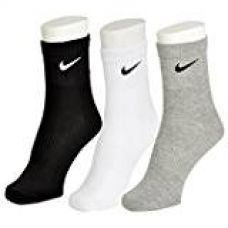 Nike Multicolour Cotton Ankle Length Socks - Pack of 3 pair for Rs. 250