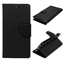 Buy KPH (TM) Mercury Fancy Wallet Dairy Flip Case Cover for Motorola Moto E 1st Gen - Black from Amazon