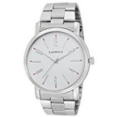 Laurels Soviet 1 Analog White Dial Men's watch Lo-SVT-0107 for Rs. 479