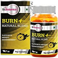 St.Botanica Burn+ Weight Management - 90 Veg Capsules (With Green Coffee Bean, Garcinia Cambogia, Green Tea ) for Rs. 999