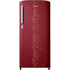 Buy Samsung 192 L 2 Star Direct Cool Single Door Refrigerator (RR19M2712RJ/RR19M1712RJ, Royal Tendril Red) from Amazon