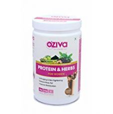 Oziva Protein & Herbs Whey Protein Powder With Multivitamins For Women - Chocolate, 17 Servings - 500 Gm for Rs. 1,465