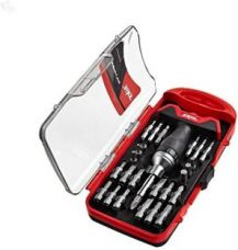 Bosch Skil T Handle Set (Red and Black) Standard Screwdriver Set(Pack of 28) for Rs. 643