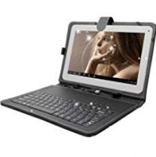 UNIC N3 Dual Sim Calling tablet with Inbuilt Speaker with Keyboard- White for Rs. 4,199