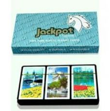 Flat 25% off on Set of 3 deck plastic playing cards , jackpot cards