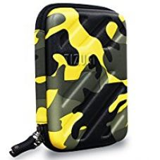 Buy Tizum Global Electronic Travel Small Gadgets & Accessories Organizer Multipurpose Pouch (Camouflage Yellow) from Amazon