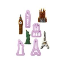 Buy Set 4 Cookie Cutters Cities from Hopscotch