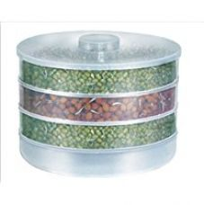 Slings Plastic Sprout Maker, 4 Containers, White for Rs. 265