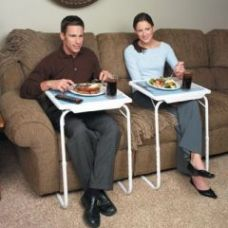 Buy Table Portable Adjustable Dinner Laptop Tray Folding for Rs. 708