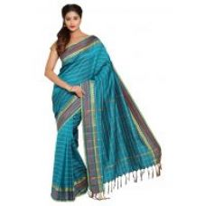 Parchayee Striped Green Mysore Art Silk Saree 94684C for Rs. 1,999