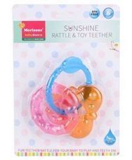 Buy Morisons Baby Dreams Sunshine Rattle and Toy Teether - from FirstCry