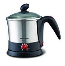 Buy Morphy Richards InstaCook Stainless Steel Electric Kettle for Noodle, Pasta and Beverage 1200 watts from Amazon