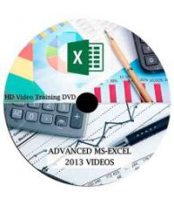 Flat 90% off on Comprehensive MS Excel 2013 From Beginner to Advanced Level DVD HD Video Lecture (51 Video Lectures) 17 hours video