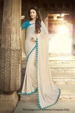 Get 60% off on itm NEW DESIGNER BOLLYWOOD STYLE SAREE