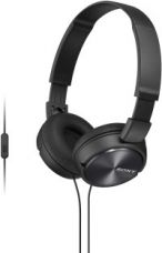 Buy Sony MDR-ZX310APB Wired Headset With Mic  (Black) for Rs. 899