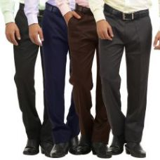 Flat 75% off on Gwalior Pack Of 4 Stitched Formal Trousers