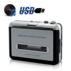 USB Cassette Player and Tape-to-MP3 Converter for Rs. 2,349
