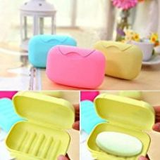Buy Travel Soap Box Case Holder (Set of 2 Pcs) - Random colors will be sent from Amazon