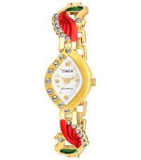 Flat 92% off on Timer Stylish Peacock Analog Watch for Girls