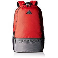 Gear 24 Ltrs Red and Grey Casual Backpack (METBPECO60904) for Rs. 683