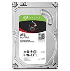 Buy Seagate SATA 2 TB NAS DRIVE (IRONWOLF)ST2000VN004 from Amazon