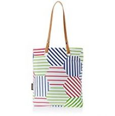 Kanvas Katha Women's Tote Bag (White) (KKST010W) for Rs. 199