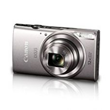 Canon IXUS-285 HS 20.2MP Point and Shoot Camera with 12x Optical Zoom(Silver) for Rs. 12,490