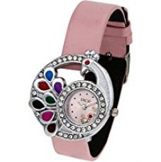 Buy Dice Women's Analogue Pink Dial Watch - PCK-M162-8442 from Amazon