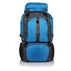 Buy Bag-Age Hiking & Trek 65Litres Rucksack (Blue) from Amazon