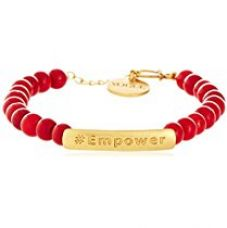 Buy Vogue Empower by Amrapali Charm Bracelet for Women (Red) (EMP-BRACE) from Amazon