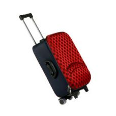 Flat 67% off on Fidato Urban Style Cabin Check In Trolley Bag (USSCTB), red and blue