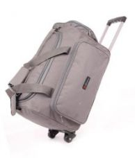 Buy Bleu Amazing Grey 2 Wheel Overnighter Travel Bag with Trolley from SnapDeal